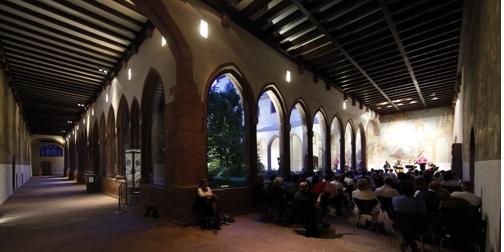 Klosterkonzerte im Karmeliterkloster Frankfurt/M, © Uwe Dettmar